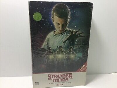 Stranger Things Season 1 One 4k Ultra HD + Blu Ray + Poster Target Edition