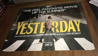 Yesterday 5Ft Subway Movie Poster 2019 The Beatles Abbey Road Poster Version