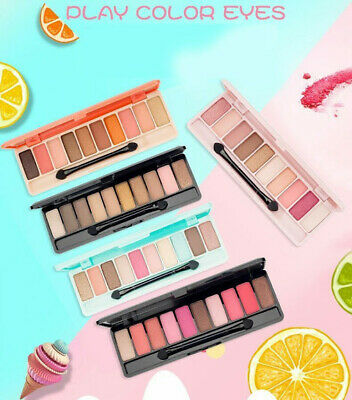 [Etude House] 10 Color Eye shadow Natural Shimmer Matte Palette Collection Set