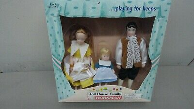 Doll House Family Horsman colonial f Doll House Family, rare (new item) vintage