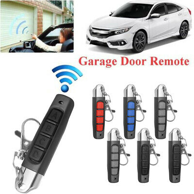 Universal Replacement Garage Door Car Gate Cloning Remote Control Key Fob433MHZ