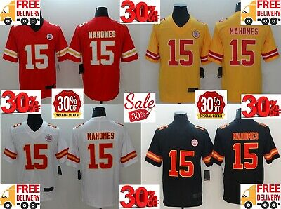 Free Shipping Men's Kansas City Chiefs #15 Patrick Mahomes II Stitched Jersey