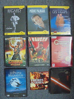 🌟 Lot 9 Dvd Blu Ray 🌟 Star Wars Bigard Palmade Vamps 🌟 Action Film Neufs 🌟