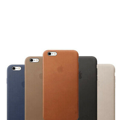 For Apple iPhone 6 6S 7 8 Plus X XS XR 11 Pro Max Genuine PU Leather Case Cover