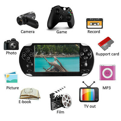 """X9S 5.1"""" 8GB MP3 Video Kids Player Camera Handheld Game Console Portable"""