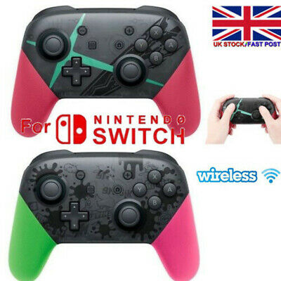 Wireless Bluetooth Pro Controller Gamepad Charging Cable for Nintendo Switch UK~