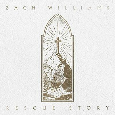 Rescue Story Zach Williams Christian PROVIDENT MUSIC GROUP Audio CD Discs: 1