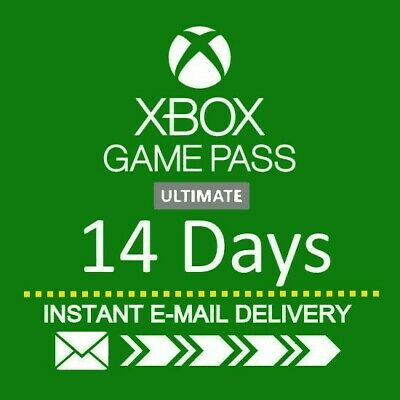 XBOX LIVE 14 Day GOLD Trial Membership Code INSTANT: 24/7 DISPATCH Only XBOX ONE
