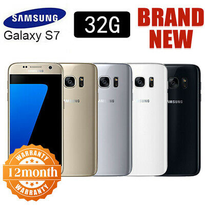 32GB Factory Unlocked Samsung Galaxy S7 G930F LTE 4G Android Phone Sim Free HOT!