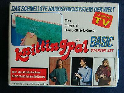 Knittingpal Basic Starter-Set, das original Hand-Strick-Gerät, Basic-Set, NEU