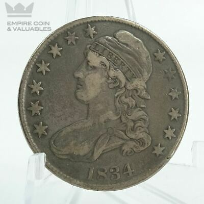 1834 Capped Bust Half Dollar LARGE DATE SMALL LETTER *NICE DETAIL