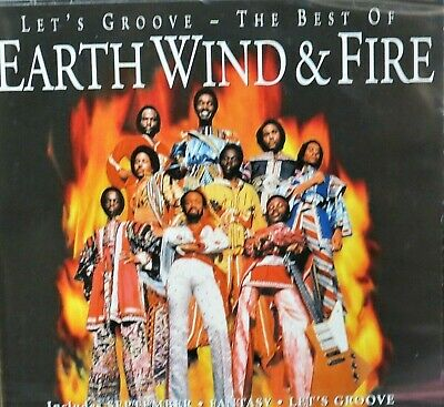 Let's Groove: The Best of Earth Wind & Fire NEW! CD, 17 Greatest HITS, R&B Soul