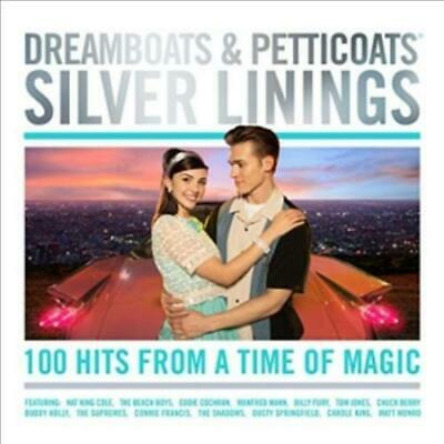 Various Artists - Dreamboats & Petticoats - Silver Linings (4 Cd) Used - Very Go