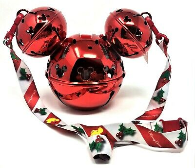 2019 Disney Parks Disneyland Christmas Mickey Jingle Bell Ornament Sipper Cup