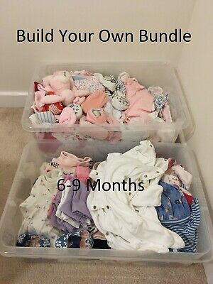 Baby Girls Clothes 6-9 Months, Build Your Own Bundle - Buy 4 or more for 15% OFF