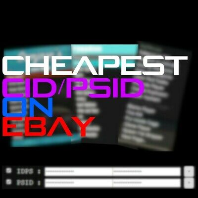 Cheapest PS3 CID / PSID On Ebay🔥Quick Delivery🔥100% Positive Seller🔥