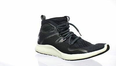 Adidas Womens Edgebounce Mid Black Running Shoes Size 10 (447529)