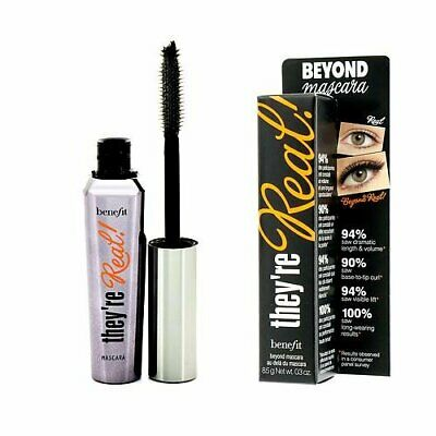 Benefit They're Real! Beyond Mascara Black FULL SIZE 8.5g/0.3oz They re Real US