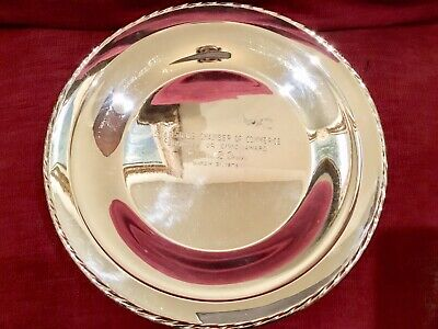 Towle Sterling Silver 925 Plate Charger 9 Inch MONO 280 gm
