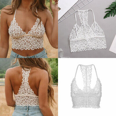 Free Floral Lace Bra Damenbekleidung Sexy Wireless Bralette Push Up Crop Tops