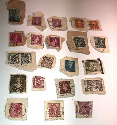 U.S. Postage Stamps - International - Foreign LOT of 21