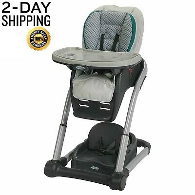 Graco Blossom 6-in-1 Convertible High Chair Seating System Baby Chair Sapphire
