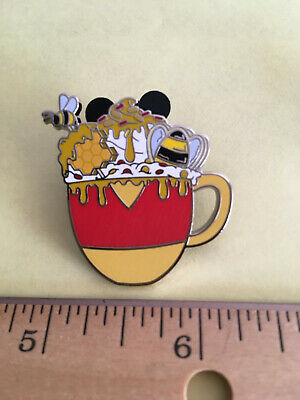 Disney Pin Mystery Cocoa Hot Chocolate Character Winnie the Pooh