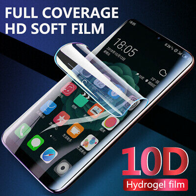 10D Flexible Hydrogel Matte Screen Protector Gel Film For Xiaomi Mi 9 9T Note 10