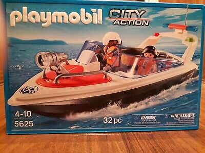Playmobil 5625 City Action Coastal Rescue Boat Playset ** PURCHASE TODAY **