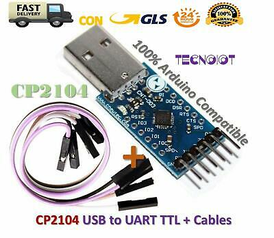 CP2104 USB to RS232 TTL UART 6PIN Connector Module Serial Converter