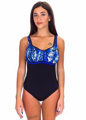 Speedo - Costume Intero - Sculpture - Contourluxe - 10420D206 - Black/Blue