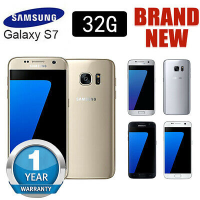 32GB Factory Unlocked Samsung Galaxy S7 G930F LTE 4G Android Phone Sim Free