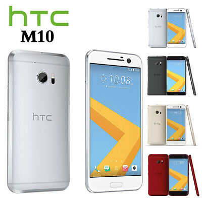 32GB New Factory Unlocked Sealed HTC 10 Black Silver Gold Red Android Smartphone