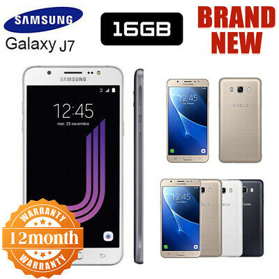 New Sealed Factory Unlocked SAMSUNG Galaxy J7 J710F Dual SIM Android Phone UK