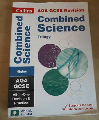 Collins AQA GCSE Combined Science: Trilogy Higher Tier All-in-one Revision
