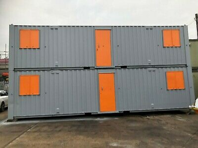 Portable Jack Leg Cabins Anti Vandal Office Canteens Shipping Containers