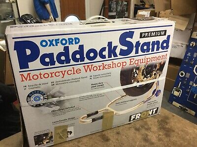 Oxford Motorcycle Premium Front Paddock Stand NEW