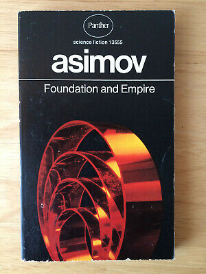 Isaac Asimov - Foundation And Empire (Panther, 1971) Vintage Sci-Fi Paperback