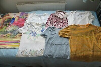 Bundle of 7 woman`s tops size  14/16