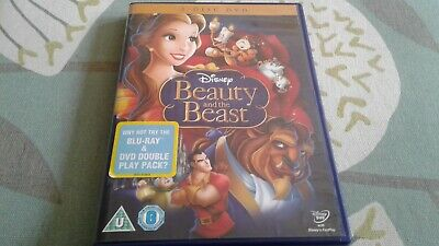 Beauty And The Beast - Disney DVD 2-Disc Hologram On Spine Region 2