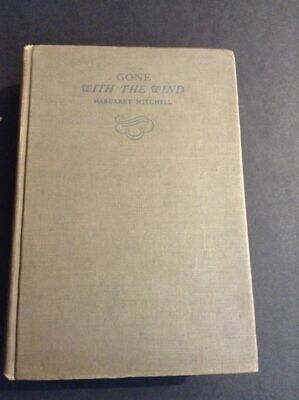 Original Gone With The Wind, Book, Oct 1936 1st Edition, 5th Printing-VG-