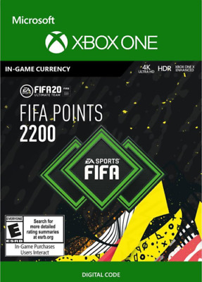 FIFA 20 Ultimate TEAM 2200 Points XBOX ONE GLOBAL - digital code