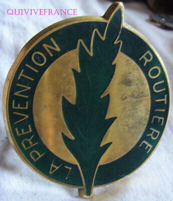Badge De Calandre La Prevention Routiere - Palme D'or Ordre Du Conducteur