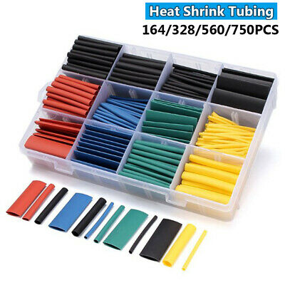 Electronic Parts Cable Sleeve Kit Shrinkable Tube Wire Cover Heat Shrink Tubing