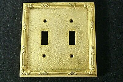 Sherle Wagner Architectural Electrical Switch Plate Cover Ribbon & Reed