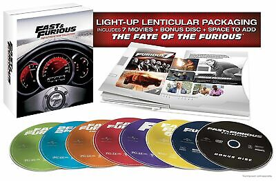 Fast & Furious: The Ultimate Ride Collection BRAND NEW SEALED DVD IN BOX