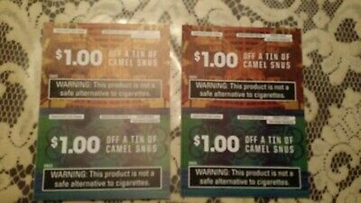 Camel SNUS Coupons (4.00 Off)