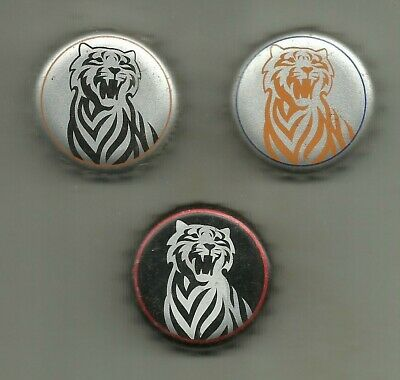 3 versch. Kronkorken / Bottle Crown Cap - TIGER BEER - Myanmar - Bier