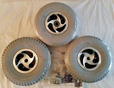 3 Cheng Shin Mobility Scooter Power Chair Wheels 360 x 85