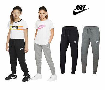 Nike Girls Tracksuit Bottoms Joggers Sweatpants NSW Kids Youth Fleece Trouser